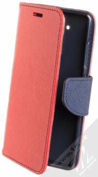 Forcell Fancy Book flipové pouzdro pro Nokia 9 červená modrá (red blue)