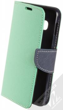 Forcell Fancy Book flipové pouzdro pro Samsung Galaxy S10e mátově zelená modrá (mint blue)