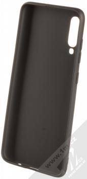 Forcell Jelly Matt Case TPU ochranný silikonový kryt pro Samsung Galaxy A70 černá (black) zepředu