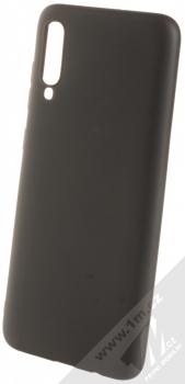 Forcell Jelly Matt Case TPU ochranný silikonový kryt pro Samsung Galaxy A70 černá (black)