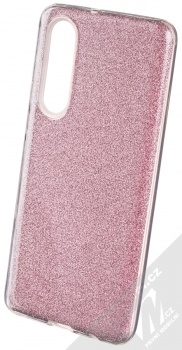 Forcell Shining třpytivý ochranný kryt pro Huawei P30 růžová (pink)