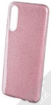 Forcell Shining třpytivý ochranný kryt pro Samsung Galaxy A50, Galaxy A30s růžová (pink)