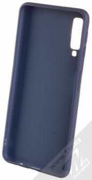 Forcell Soft Case TPU ochranný silikonový kryt pro Samsung Galaxy A7 (2018) tmavě modrá (dark blue) zepředu