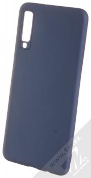 Forcell Soft Case TPU ochranný silikonový kryt pro Samsung Galaxy A7 (2018) tmavě modrá (dark blue)