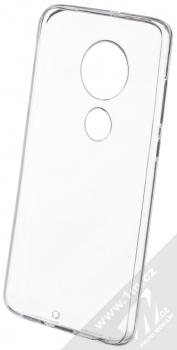 Forcell Thin 1mm ochranný kryt pro Moto G7 průhledná (transparent) zepředu