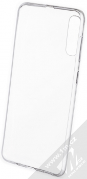 Forcell Ultra-thin 0.5 tenký gelový kryt pro Samsung Galaxy A50 průhledná (transparent) zepředu