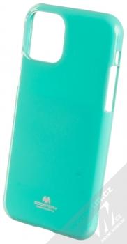 Goospery Jelly Case TPU ochranný silikonový kryt pro Apple iPhone 11 Pro mátově zelená (mint green)