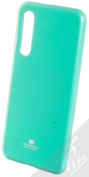 Goospery Jelly Case TPU ochranný silikonový kryt pro Xiaomi Mi 9 SE mátově zelená (mint green)