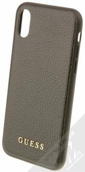 Guess IriDescent Hard Case ochranný kryt pro Apple iPhone X, iPhone XS (GUHCPXIGLBK) černá (all black)