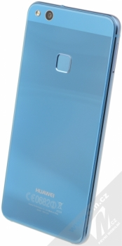HUAWEI P10 LITE modrá (sapphire blue) šikmo zezadu