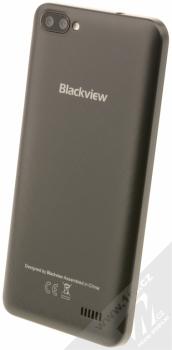 iGET BLACKVIEW GA7 černá (chocolate black) šikmo zezadu