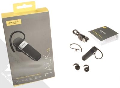 Jabra Talk 15 Bluetooth headset černá (black) balení