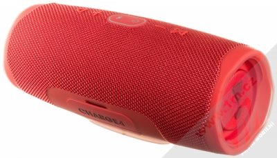 JBL CHARGE 4 voděodolný výkonný Bluetooth reproduktor a záložní zdroj červená (red) zezadu