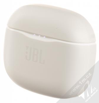 JBL TUNE 120BT TrueWireless Bluetooth stereo sluchátka bílá (white) nabíjecí pouzdro