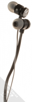 Karl Lagerfeld Bluetooth Stereo Earphones módní stereo headset s tlačítkem černá (black) sluchátka