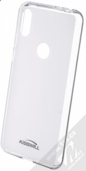 Kisswill TPU Open Face silikonové pouzdro pro Motorola One bílá průhledná (white)