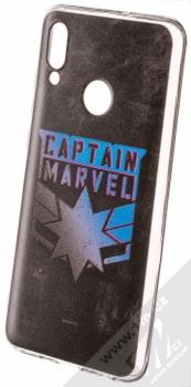 Marvel Kapitánka Marvel 015 TPU ochranný silikonový kryt s motivem pro Huawei P Smart (2019) černá (black)