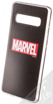 Marvel Logo 002 TPU ochranný silikonový kryt s motivem pro Samsung Galaxy S10 černá (black)