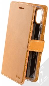 Molan Cano Issue Diary flipové pouzdro pro Apple iPhone XR hnědá (brown)