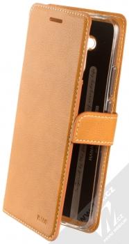 Molan Cano Issue Diary flipové pouzdro pro Huawei Mate 20 Lite hnědá (brown)