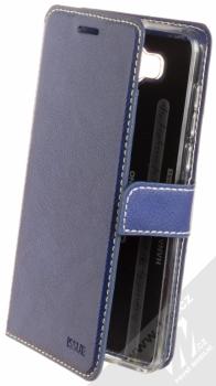 Molan Cano Issue Diary flipové pouzdro pro Huawei Y5 (2017), Y6 (2017) tmavě modrá (navy blue)