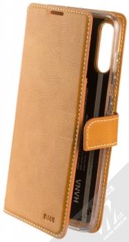 Molan Cano Issue Diary flipové pouzdro pro Samsung Galaxy A70 hnědá (brown)