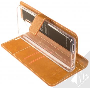 Molan Cano Issue Diary flipové pouzdro pro Xiaomi Redmi 8A hnědá (brown) stojánek