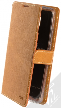 Molan Cano Issue Diary flipové pouzdro pro Xiaomi Redmi 8A hnědá (brown)