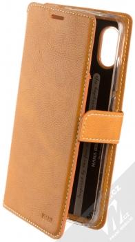 Molan Cano Issue Diary flipové pouzdro pro Xiaomi Redmi Note 6 Pro hnědá (brown)