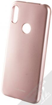 Molan Cano Jelly Case TPU ochranný kryt pro Huawei Y6 Prime (2019), Honor 8A růžově zlatá (rose gold)