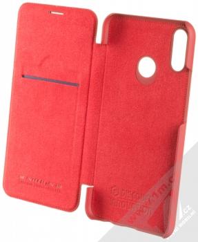 Nillkin Qin flipové pouzdro pro Huawei Nova 3i červená (red) otevřené