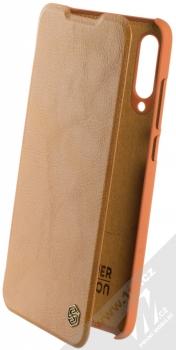 Nillkin Qin flipové pouzdro pro Xiaomi Mi 9 Lite hnědá (brown)
