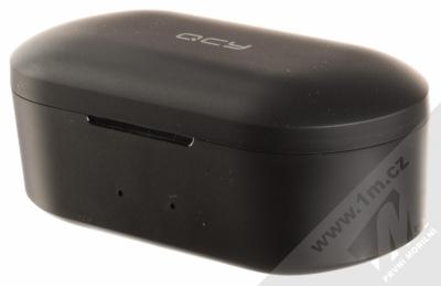 QCY T1S True Wireless Bluetooth stereo sluchátka černá (black) nabíjecí pouzdro