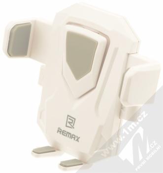 Remax RM-C26 Transformer univerzální držák do auta s přísavkou pro mobilní telefon, mobil, smartphone bílá šedá (white grey) vanička dolní rozpětí