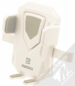 Remax RM-C26 Transformer univerzální držák do auta s přísavkou pro mobilní telefon, mobil, smartphone bílá šedá (white grey) vanička zepředu