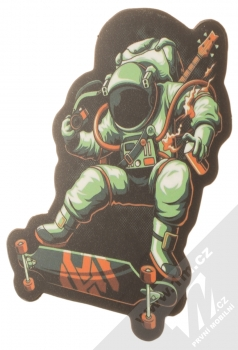 Samolepka Kosmonaut plný alternativní kultury 1