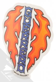 Samolepka Tommy Guerrero ohnivé srdce 2