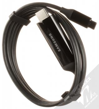 Samsung EE-I3100FB DeX Cable originální multimediální kabel z USB Type-C na HDMI konektor s podporou 4K rozlišení a délky 1.5 metru černá (black) komplet