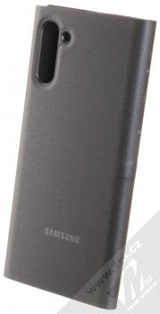 Samsung EF-NN970PB LED View Cover originální flipové pouzdro pro Samsung Galaxy Note 10 černá (black) zezadu