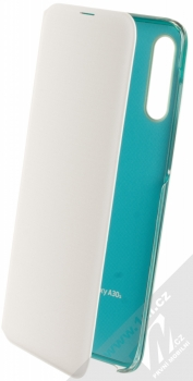 Samsung EF-WA307PW Wallet Cover originální flipové pouzdro pro Samsung Galaxy A30s bílá (white)