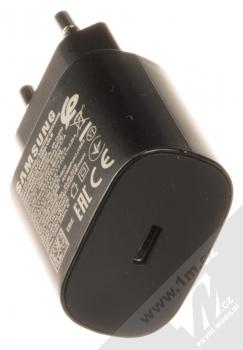 Samsung EP-TA800EB originální nabíječka s USB Type-C výstupem a Samsung EP-DA705BB originální USB Type-C kabel černá (black) nabíječka USB Type-C konektor