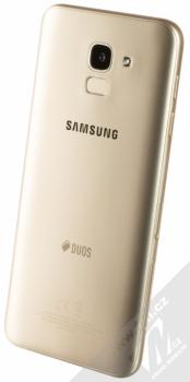 SAMSUNG SM-J600FN/DS GALAXY J6 zlatá (gold) šikmo zezadu