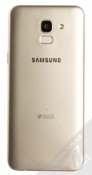 SAMSUNG SM-J600FN/DS GALAXY J6 zlatá (gold) zezadu