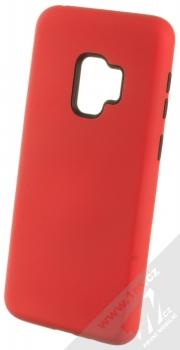 Sligo Defender Solid odolný ochranný kryt pro Samsung Galaxy S9 červená černá (red black)