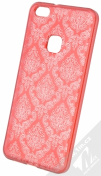 Sligo Ornament TPU ochranný kryt s motivem pro Huawei P10 Lite červená (red)