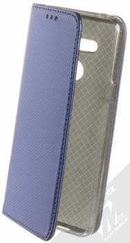 Sligo Smart Magnet flipové pouzdro pro LG G8 ThinQ tmavě modrá (dark blue)