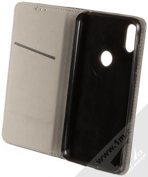 Sligo Smart Magnet flipové pouzdro pro Motorola One černá (black) otevřené