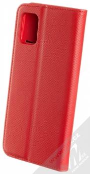 Sligo Smart Magnet flipové pouzdro pro Samsung Galaxy A51 červená (red) zezadu
