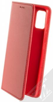 Sligo Smart Magnet flipové pouzdro pro Samsung Galaxy A51 červená (red)