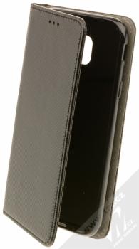 Sligo Smart Magnet flipové pouzdro pro Samsung Galaxy J3 (2017) černá (black)